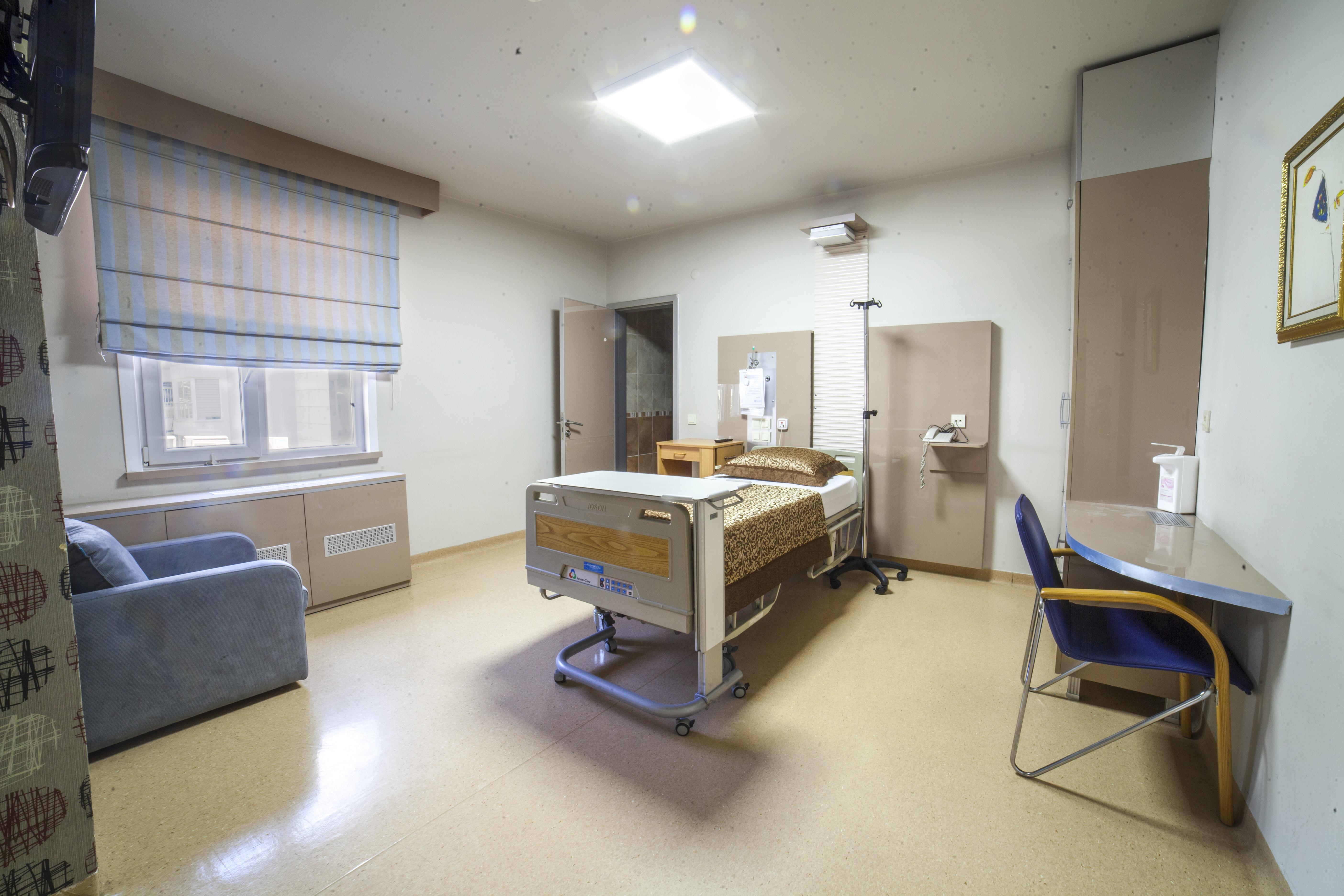 geniş ve rahat odalar